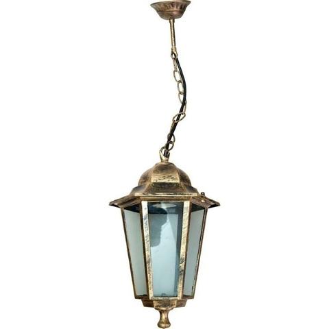 Светильник садово-парковый, 60W 230V E27 черное золото, 6105 (Feron)