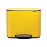 Мусорный бак Bo  (3 x 11 л), Желтая маргаритка, арт. 121043 - превью 1