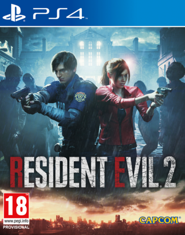Sony PS4 Resident Evil 2 (русские субтитры)