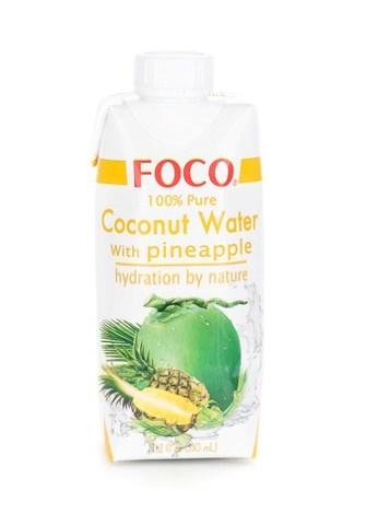 Кокосовая Вода с Ананасом Foco, 330 мл