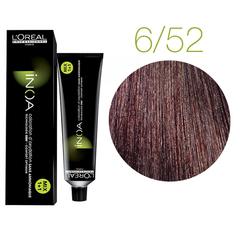 L'Oreal Professionnel INOA 6.52 (Темный блондин махагоново-перламутровый) - Краска для волос