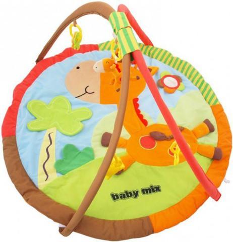 Игровой коврик для новорожденных  Baby Mix Жираф1