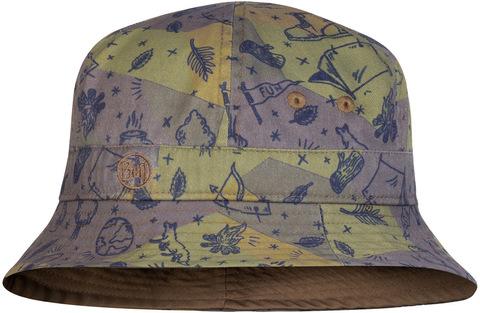 Панама детская Buff Bucket Hat Camp Khaki