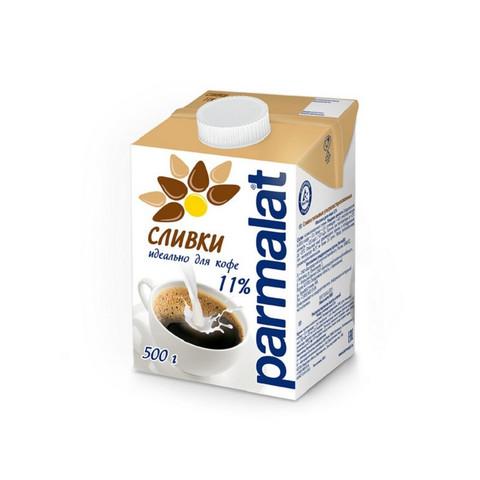 Сливки Parmalat стерил.  11%  0,5 л. т/пак.