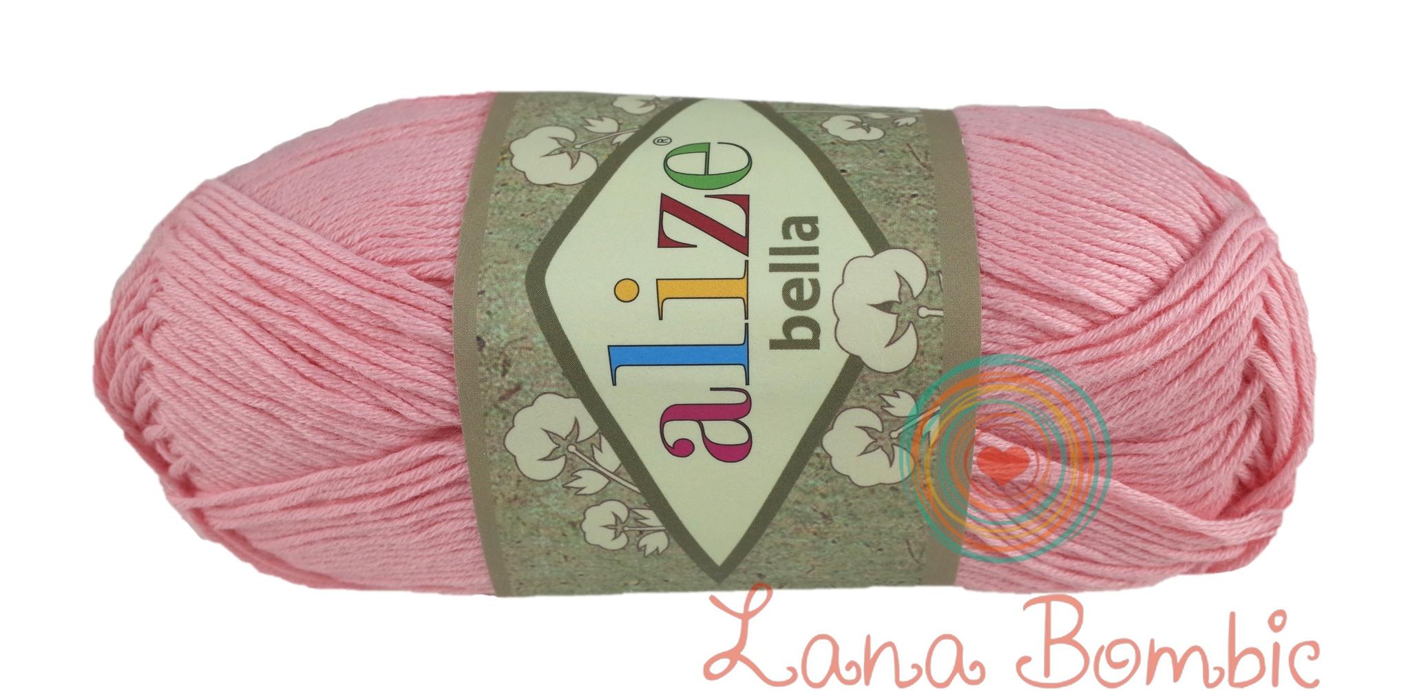 Пряжа Alize Bella розовый 32