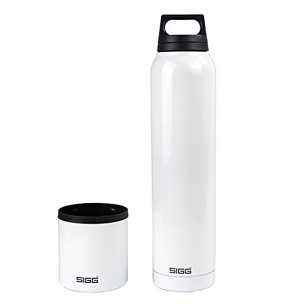 Термобутылка Sigg H&C (1 литр), белая