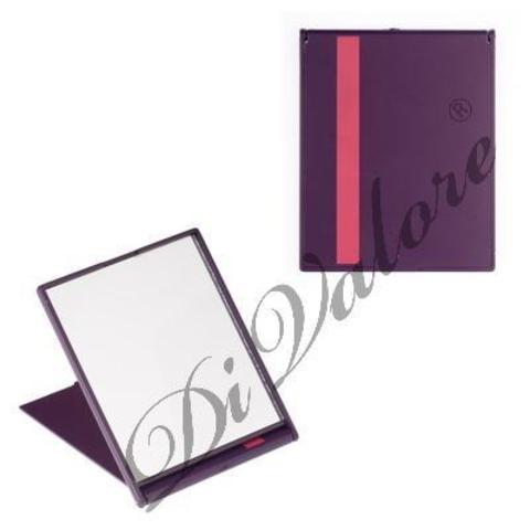 Di Valore Зеркало складное прямоугольное, фиолетовое 11,5*9,2*0,6см 114-014