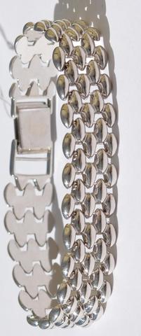 Плетенка  (серебряный браслет)