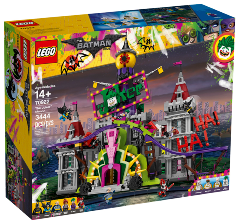 LEGO Super Heroes: Поместье Джокера 70922 — The Joker Manor — Лего Супергерои ДиСи