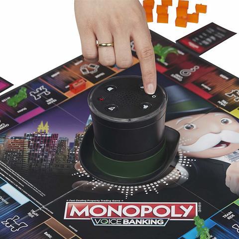 Hasbro: Игра настольная Монополия Голосовое управление E4816 — Voice Banking Electronic Family Board — Хасбро