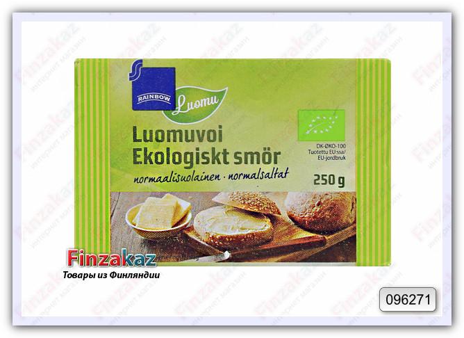 Масло сливочное Rainbow Luomu органическое 250 гр
