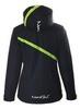 Женская утепленная лыжная куртка Nordski Premium NSW120180 черная-лайм фото