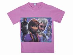 BK002F-21 футболка для девочек, розовая