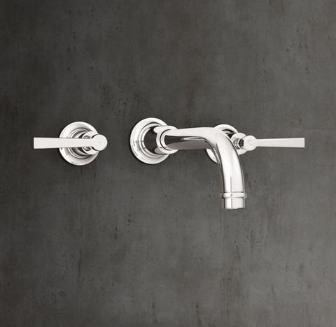 1940 Fleetwood Lever-Handle Wall-Mount Faucet