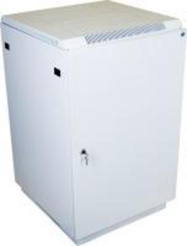 Шкаф телекоммуникационный напольный ЦМО  18U (600 x 600) дверь металл