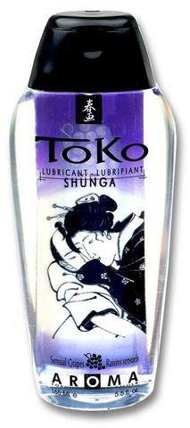 Оральный лубрикант SHUNGA ТОКO AROMA с ароматом винограда (165 мл )