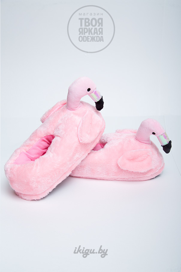 """Тапочки Тапочки """"Фламинго Нежно - Розовые"""" фламинго-4.jpg"""