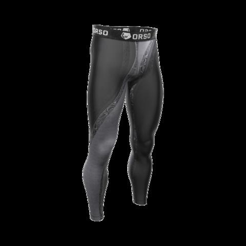 купить мужские тайтсы леггинсы orso maori atua для бега фитнеса единоборств занятий спортом