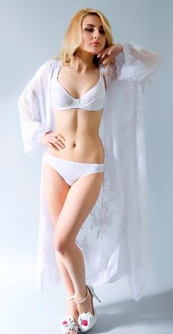 МЛ 103-01 Бюстгальтер послеродовый Памела, белый