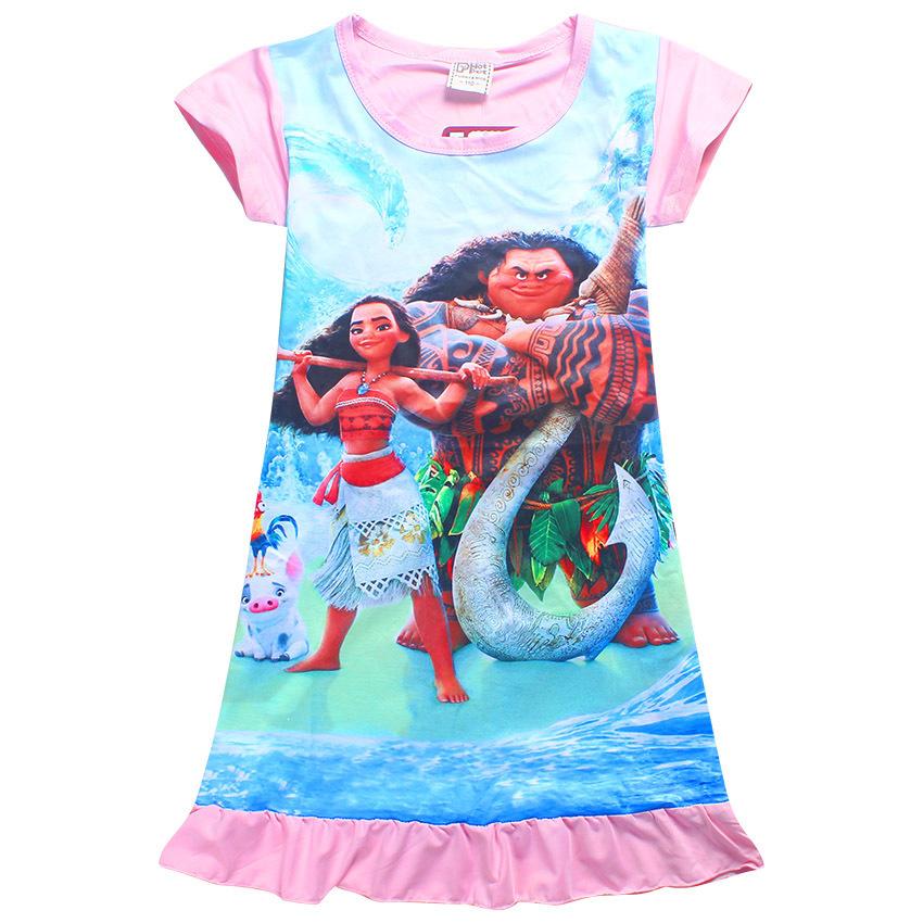 Моана платье летнее Моана и Мауи