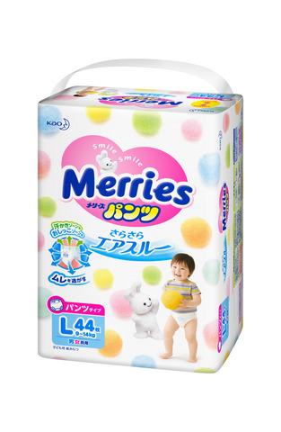 Трусики размер L 9-14 кг Merries Меррис