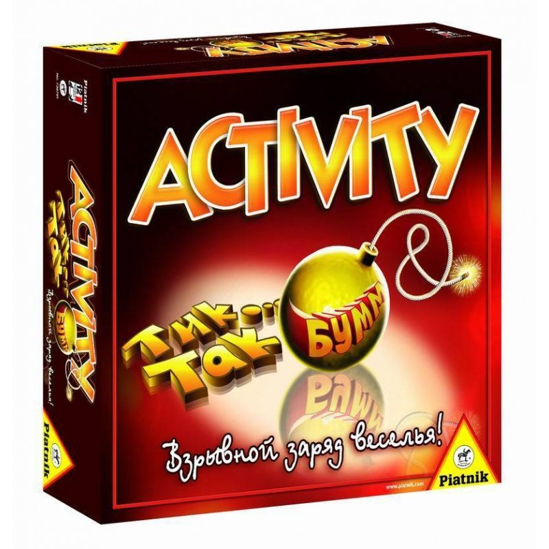 Настольная игра ACTIVITY + Tик Так Бумм (Активити)