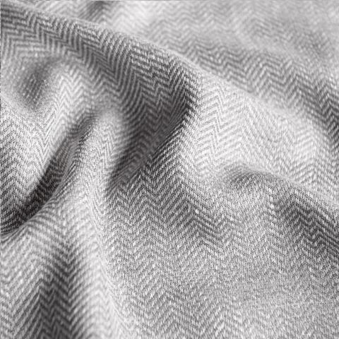 Ткань под лен Белла серый
