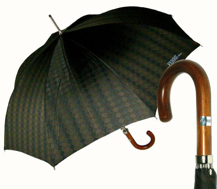 Зонт-трость Ferre GF -272 br-Nuovo Duke