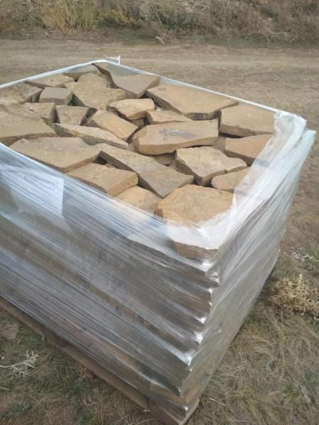 Песчаник плитняк Каштан