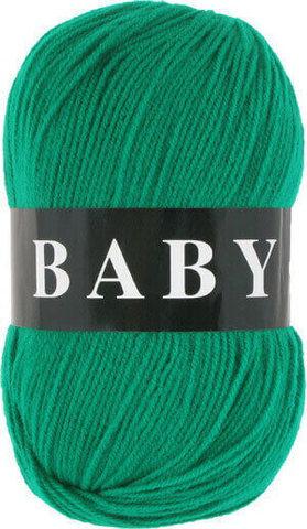 Пряжа Baby (Vita) 2859 Ярко-зеленый фото