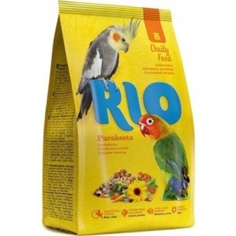 RIO корм для средних попугаев основной рацион 500г