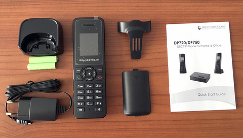 Grandstream DP720 - IP DECT трубка
