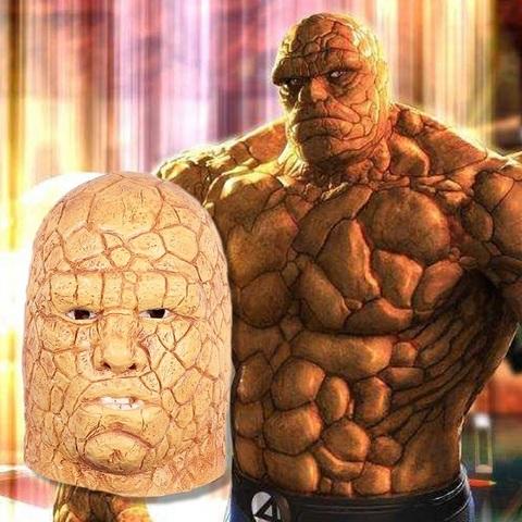 Фантастическая четвёрка маска Каменный человек