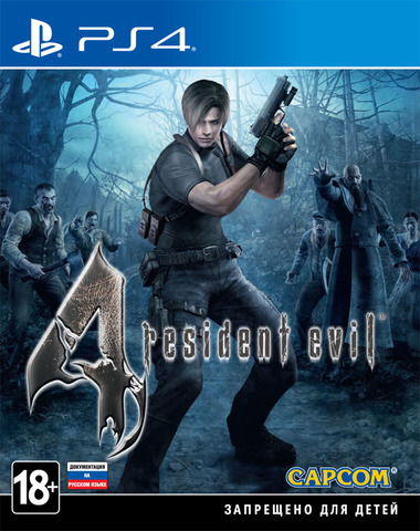 Sony PS4 Resident Evil 4 (английская версия)