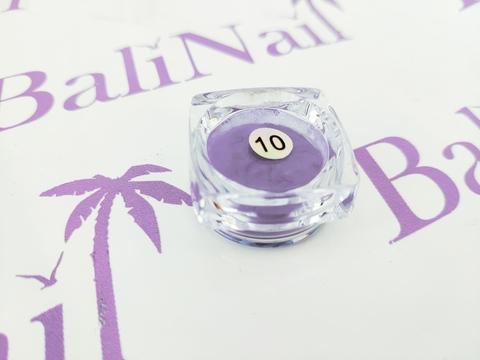 Термо-пигмент для дизайна ногтей (фиолетовый) #10