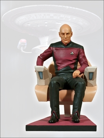 Star Track - Captain Picard 1:6 Figure || Коллекционная фигурка Капитан Пикард
