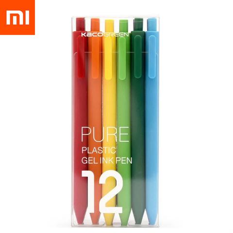 Комплект гелевых ручек Xiaomi KACO Pure (12 штук)