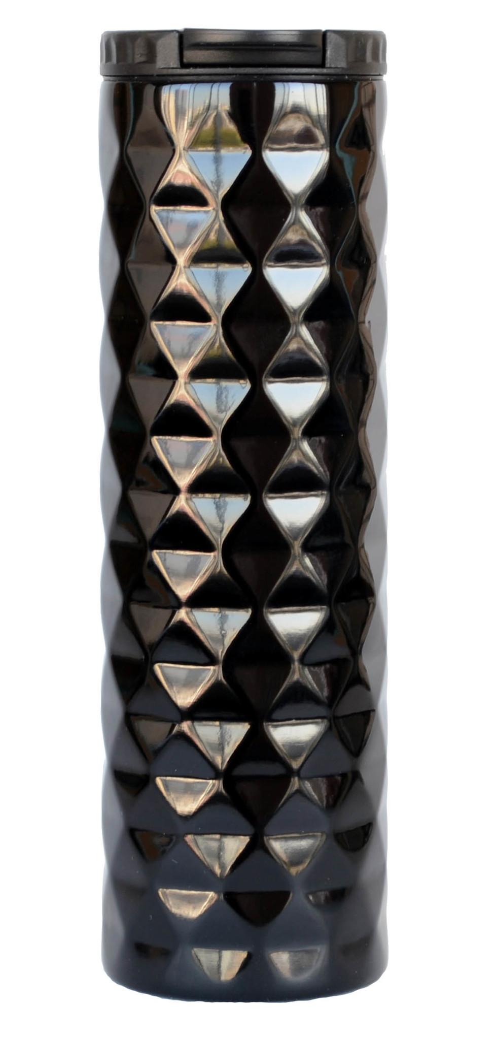 Термокружка Muggs Diamond 500 мл. черная