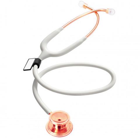 Стетоскоп MD One (белый/розовое золото)