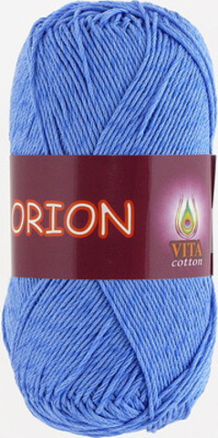 Пряжа Orion Vita cotton 4574 Голубой