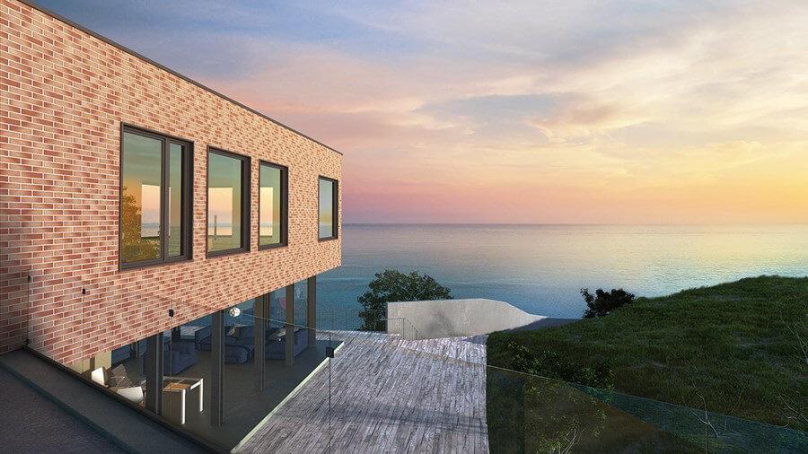 King Klinker - Sunny shore (09), Dream House, 65x250x10, RF - Клинкерная плитка для фасада и внутренней отделки