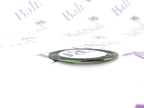 Самоклеящаяся лента для дизайна ногтей (зеленая)
