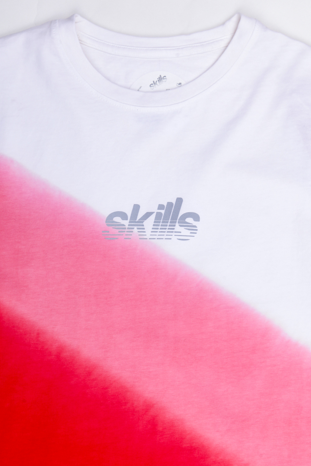 Футболка SKILLS ROADSTER WHITE/RED/BLACK