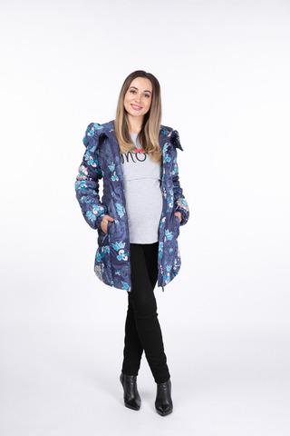 Куртка для беременных 05160 синий