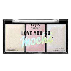 NYX Набор хайлайтеров LOVE YOU SO MOCHI HIGHLIGHTING PALETTE - ARCADE GLAM