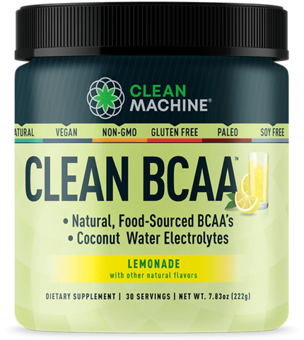 CLEAN MACHINE, CLEAN BCAA (комплекс аминокислот со вкусом «лимонад»), 216 грамм, 30 порций