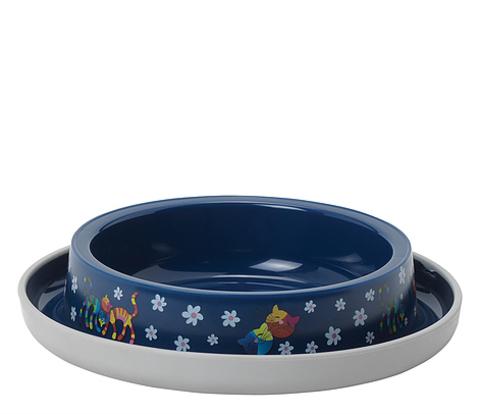 Moderna Friends Forever миска пластиковая нескользящая 210 мл, синяя
