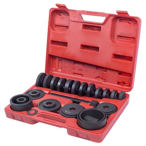 МАСТАК (100-30022C) Набор оправок для монтажа и демонтажа ступичных подшипников, кейс, 22 предмета