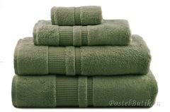Полотенце 100х150 Hamam Pera зеленое