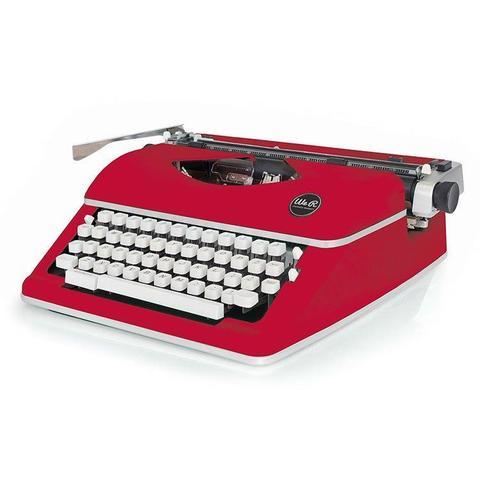 Печатная машинка We R Typecast Typewriter-Red
